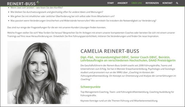 Camelia Reinert-Buss, Münster